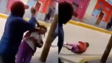 Video: Por diversión sujeto golpea a una anciana indigente