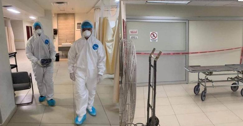 Hombre explota en hospital de Sonora tras consumir sulfuro de aluminio