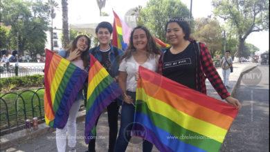Se realiza la treceava marcha LGBTTTI en Morelia