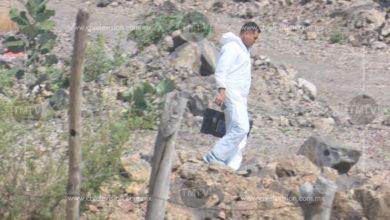 Arrojan un muerto en el camino a Chaparaco
