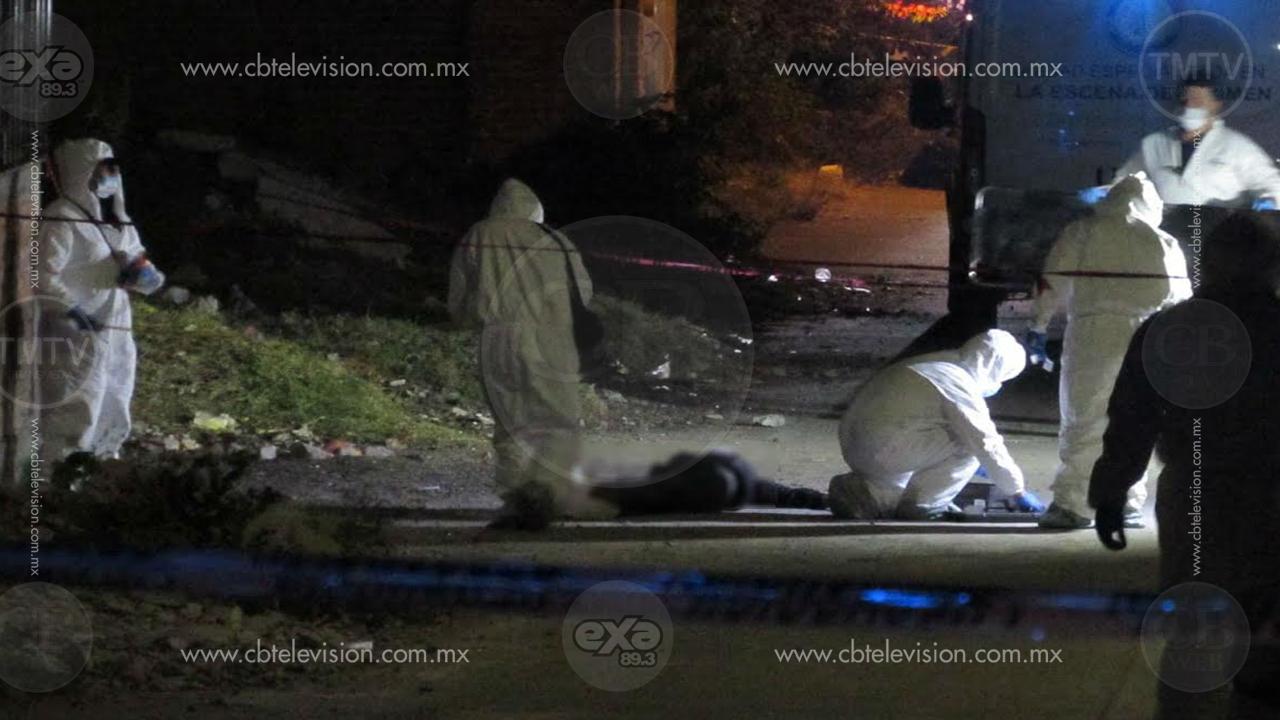 Asesinan a otro hombre en Morelia