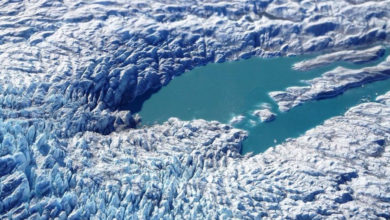 La NASA detecta formaciones de lagos y ríos fluyendo en glaciares de Groenlandia