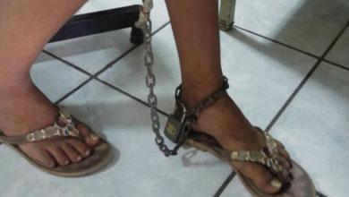 Luego de huir de su casa niña fue secuestrada, la tenían encadenada y era abusada