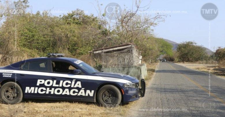 Recupera Policía Michoacán tractocamión con reporte de robo