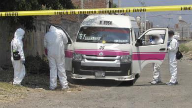 Detienen a presunto asesino de chofer de la Ruta Rosa 1