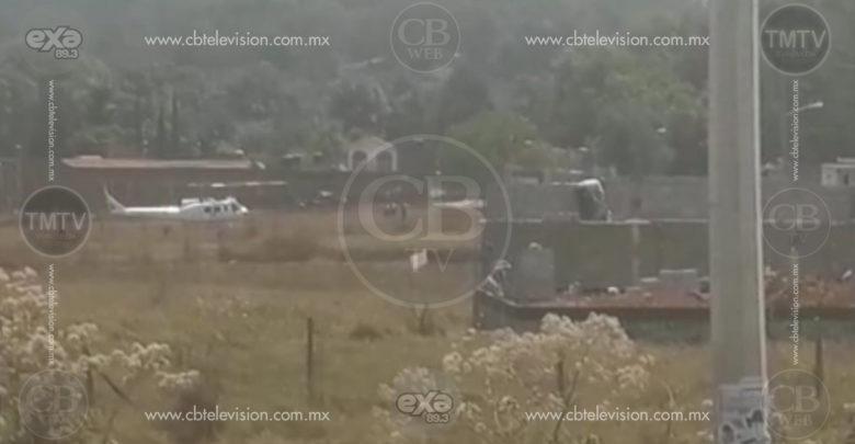 Se desata balacera en Uruapan, liberan a una victima de secuestro y detienen a 10