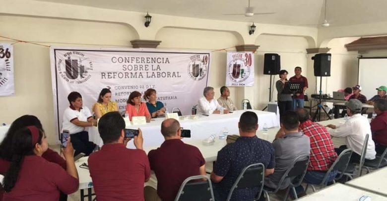 Imparte Dip. Anita Sánchez conferencia magistral sobre reforma laboral-derecho laboral