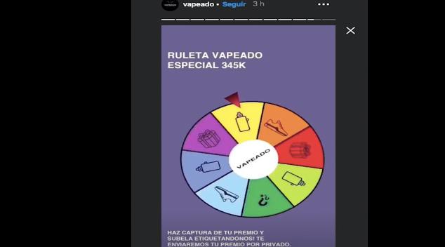 ¿Qué es la ruleta de Vapeado?