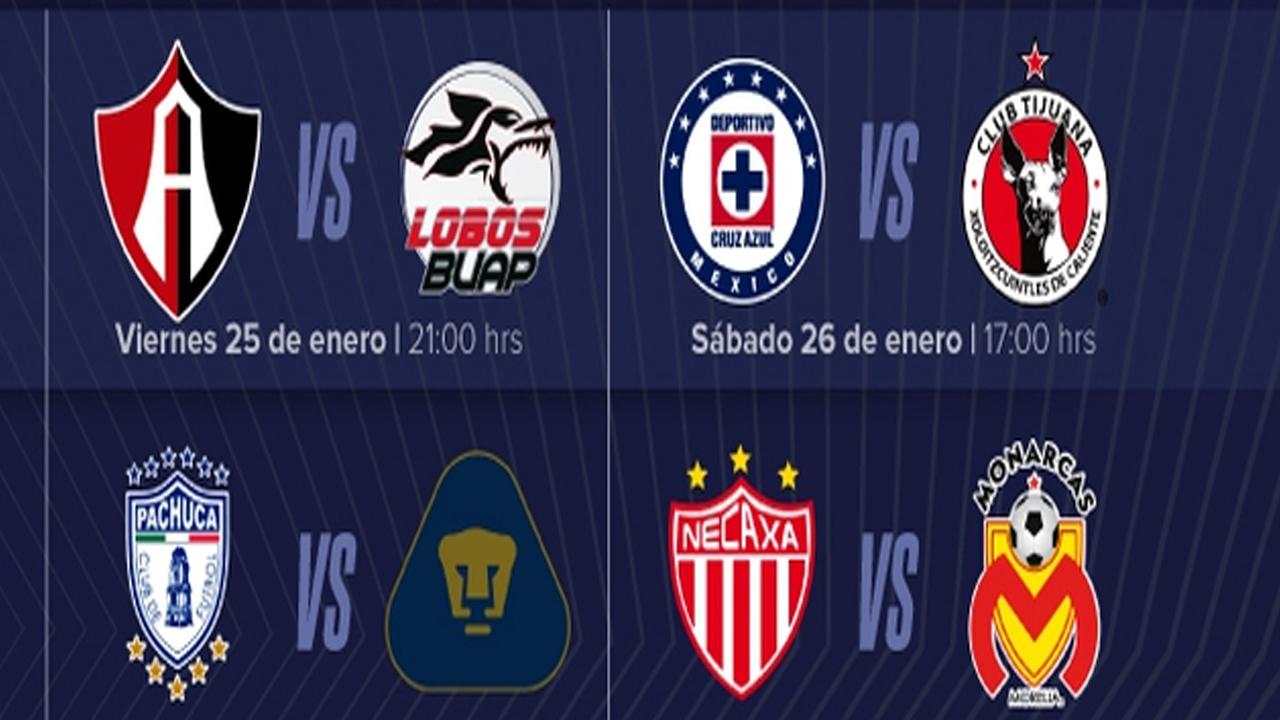Revelan el calendario de Apertura 2019 de la Liga MX