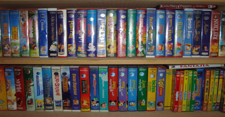 Los VHS de películas Disneyvalen miles de pesos