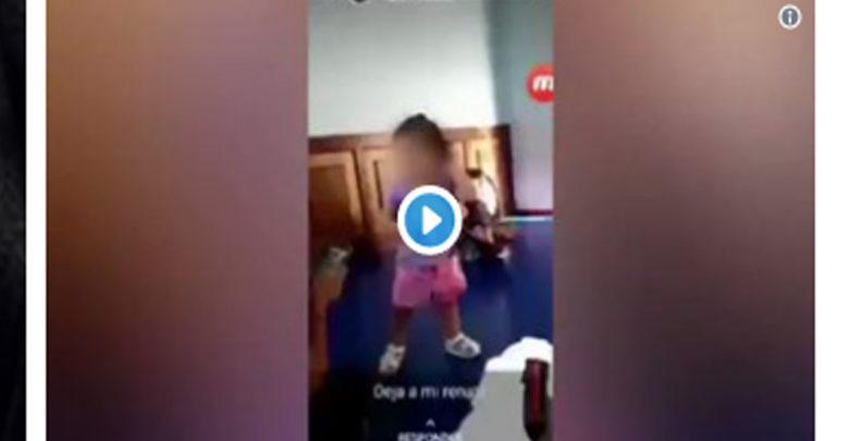 Video: Exhiben a mujer que maltrata un bebé en una estancia infantil