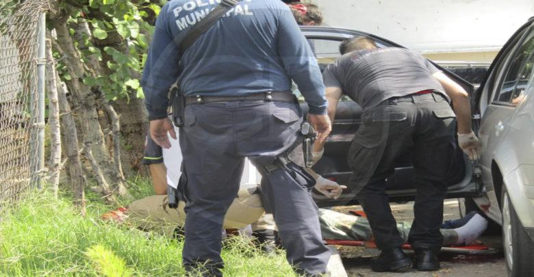 Matan de un balazo en la cabeza a un automovilista