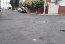 Deterioro constante en las calles de la colonia Ventura Puente