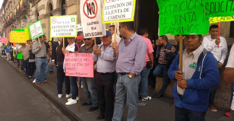 Continúan las manifestaciones de la Junta Local de Caminos