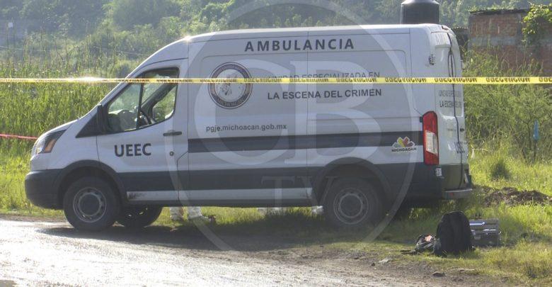 Continúan los cuerpos humanos embolsados en Michoacán