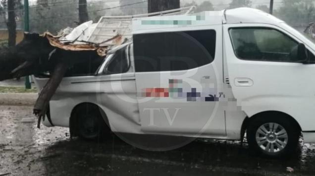 VIDEO: Tzintzuntzan y Ciudad Hidalgo con afectaciones por trombas; hay cuatro heridos