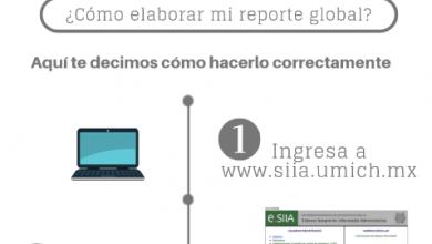 Estos son los pasos para realizar tu reporte global si realizaste tu servicio social en la UMSNH, en el área de salud