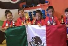 Niños mexicanos ganan campeonato de habilidad mental y matemáticas en China