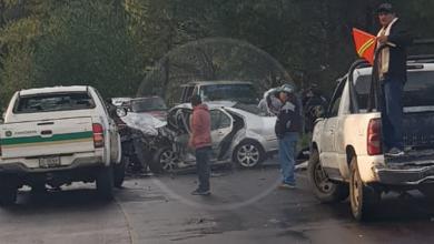 "Mueren dos músicos de ""Tierra Fría"" en choque de autos"