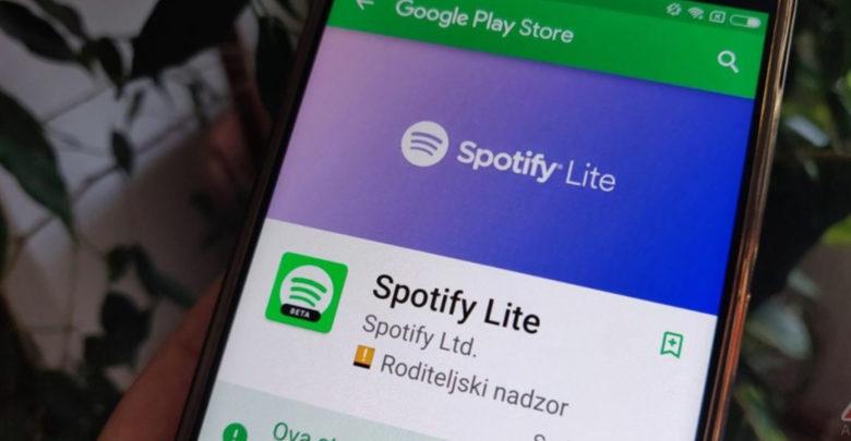 ¡No te acabes tus datos! Spotify Lite ya se encuentra disponible