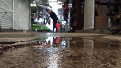 Comerciantes del mercado Independencia, denuncian nula atención ante inundación