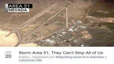 Fuerza Aérea de EU advierte sobre evento para invadir el Área 51