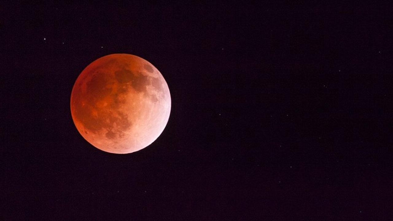 Último eclipse parcial de luna del año; 16 de julio