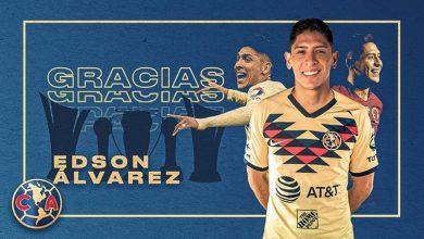 Edson Álvarez se despide del América para ser el nuevo jugador del Ajax