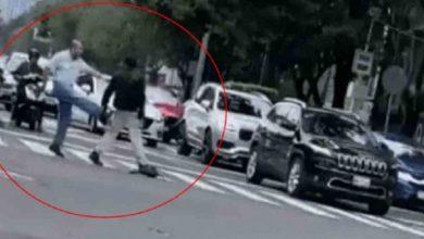 """Video: Hay video de la pelea viral de """"Don Uber"""" con motociclista"""