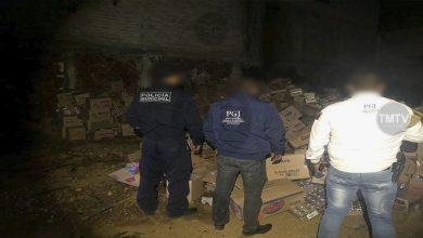 FGE catea inmueble en Tacícuaro y recupera mercancía robada