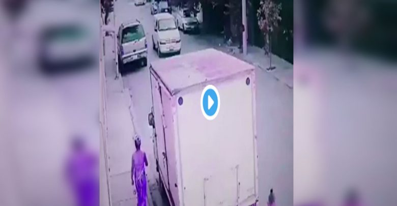 Captan el momento en que hombre intenta secuestrar a una niña