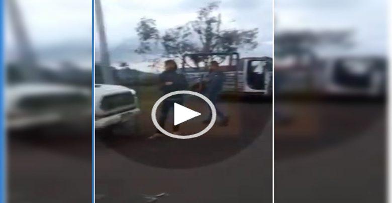 Video: Cártel de los Viagras hace retenes en la carretera de Uruapan