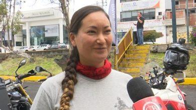 Esta mujer ha recorrido por 2 años varios países de Latinoamérica y el mundo en su Motocicleta