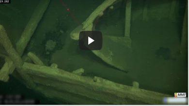 Video: Encuentran barco de 500 años de antigüedad en perfecto estado