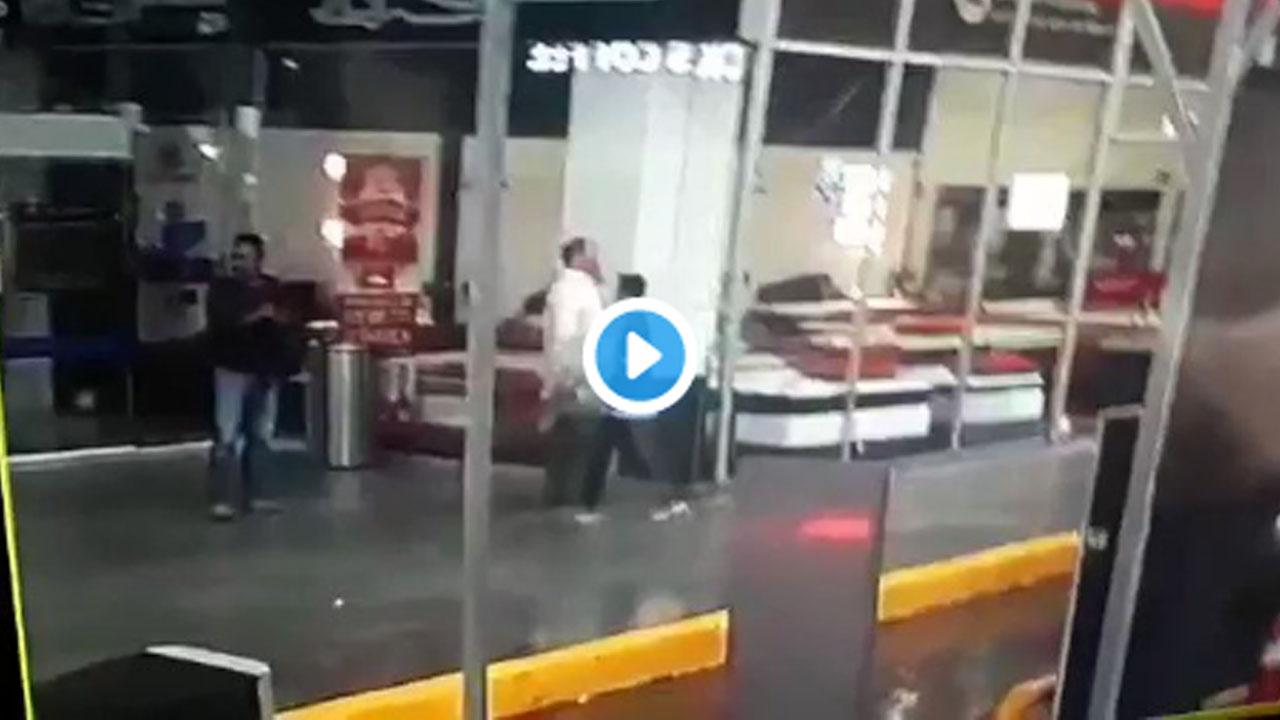 Video: Captan cómo acribillan a policía para poder asaltar a cuentahabiente