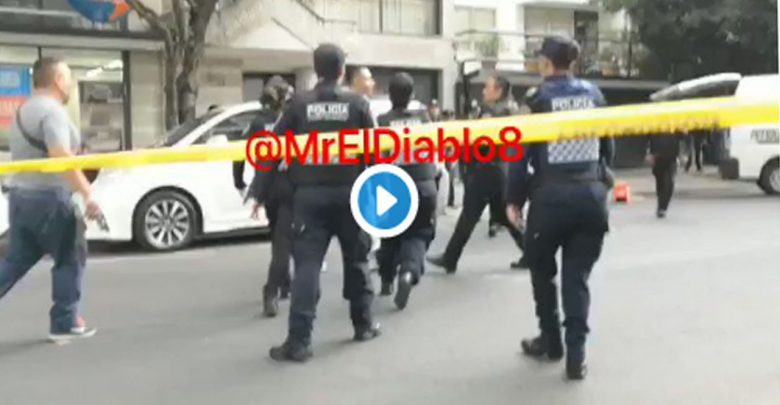 """Video: """"Es mi hijo, déjame pasar""""; padre del presunto asaltante abatido"""