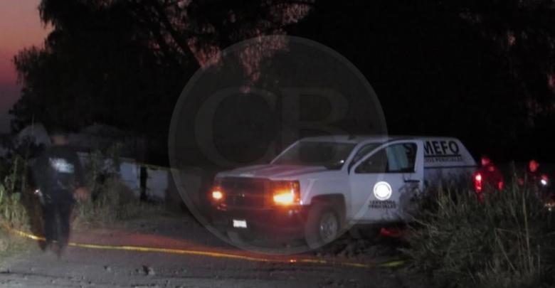 Cadáver baleado es hallado en brecha de Parácuaro