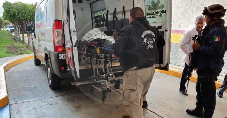 Hombre queda herido al ser baleado en Jacona