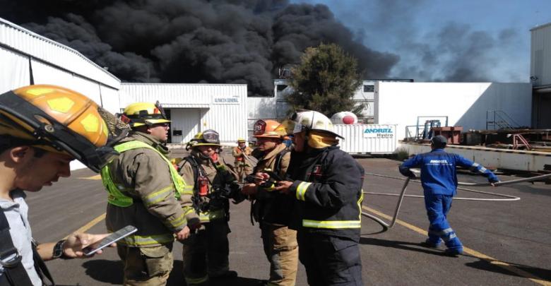 Recomendaciones a tomar tras incendio registrado en Ciudad Industrial
