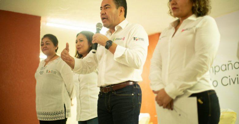 Encabeza Carlos Herrera campaña de regularización del estado civil en LC