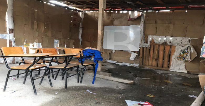Aún hay escuelas de palitos en Morelia; padres de familia piden apoyo a autoridades