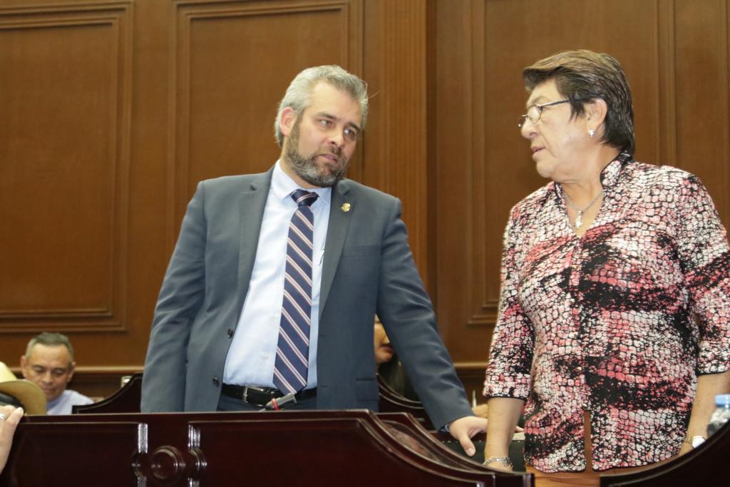 Teresa López llega a coordinación de Morena en Congreso, Alfredo Ramírez a presidencia de Mesa Directiva