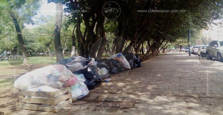 Bosque Cuahutémoc usado como basurero
