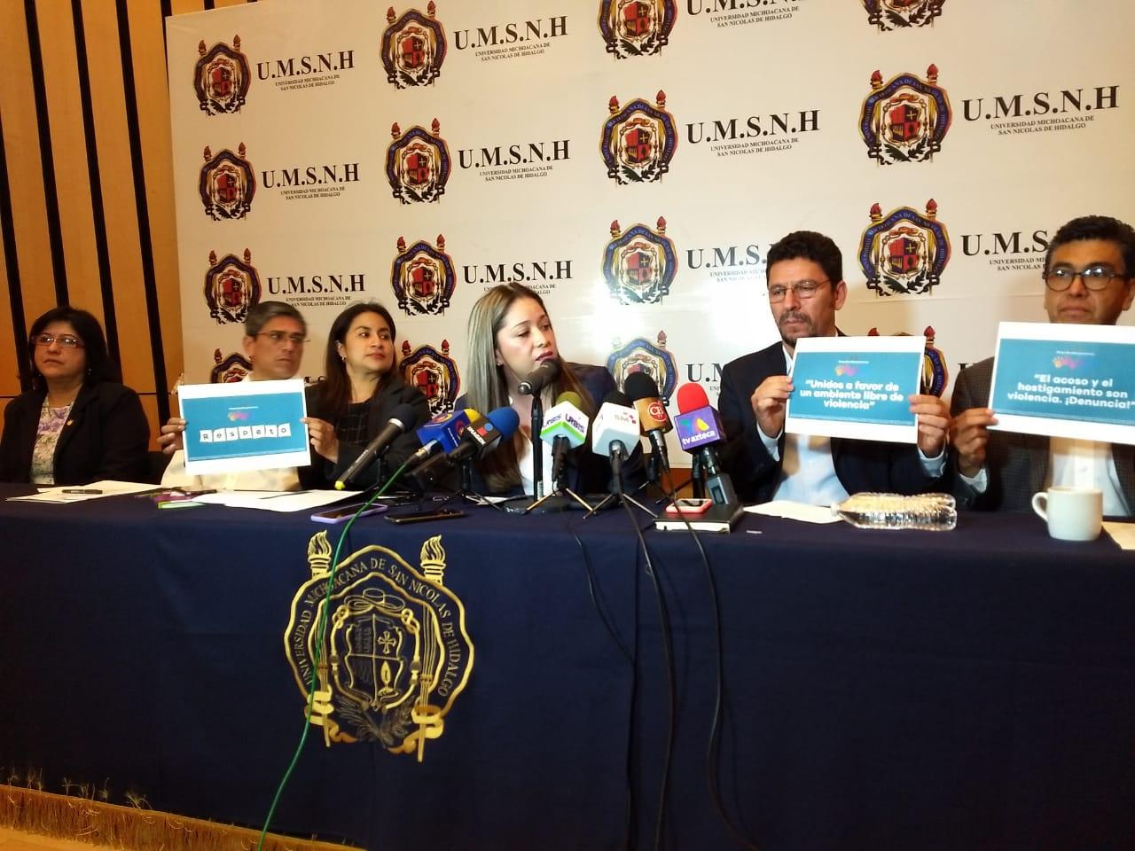 UMSNH busca garantizar derechos de mujeres; mejora Protocolo de Prevención