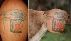 Tatuaje fallido