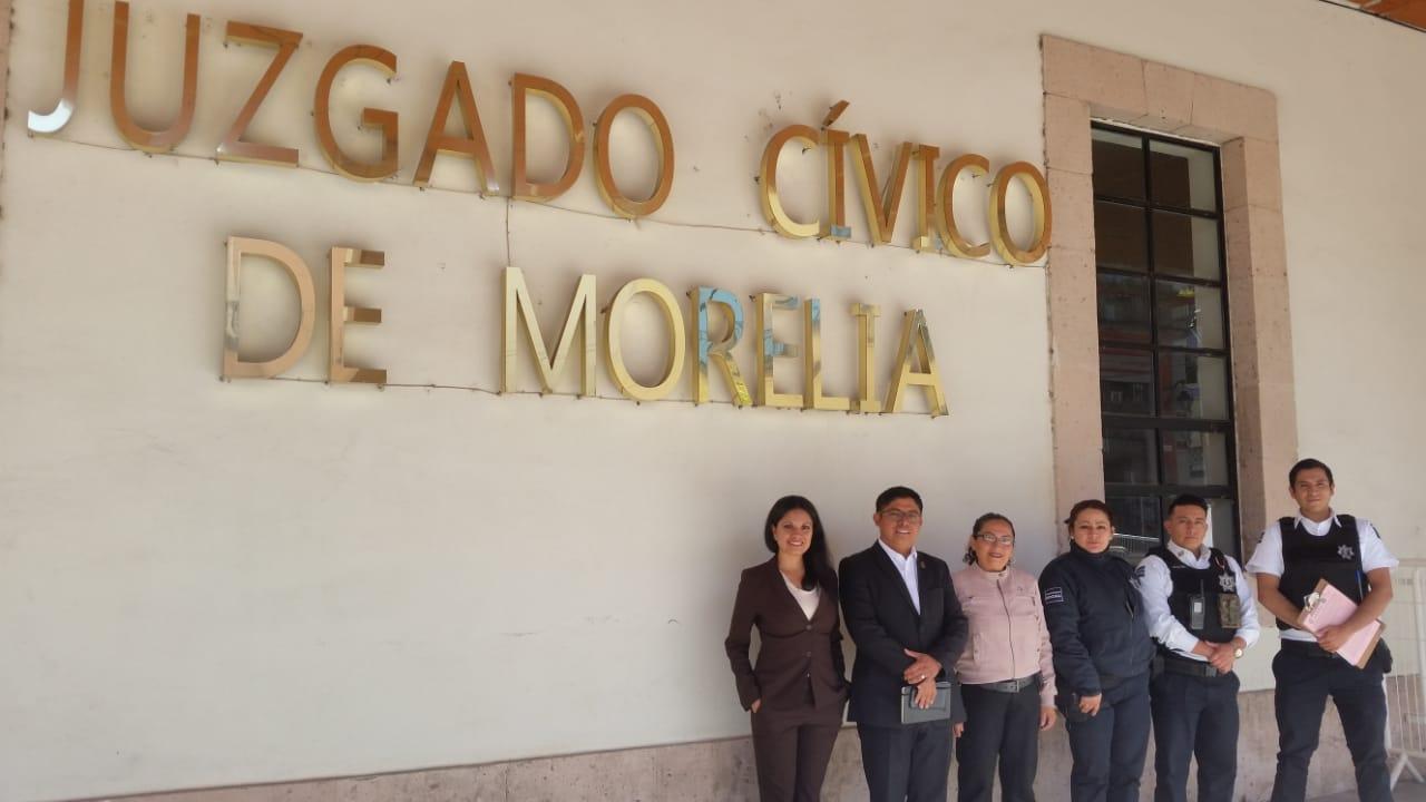 Con pasos sólidos avanza instalación de Juzgados Cívicos en Uruapan