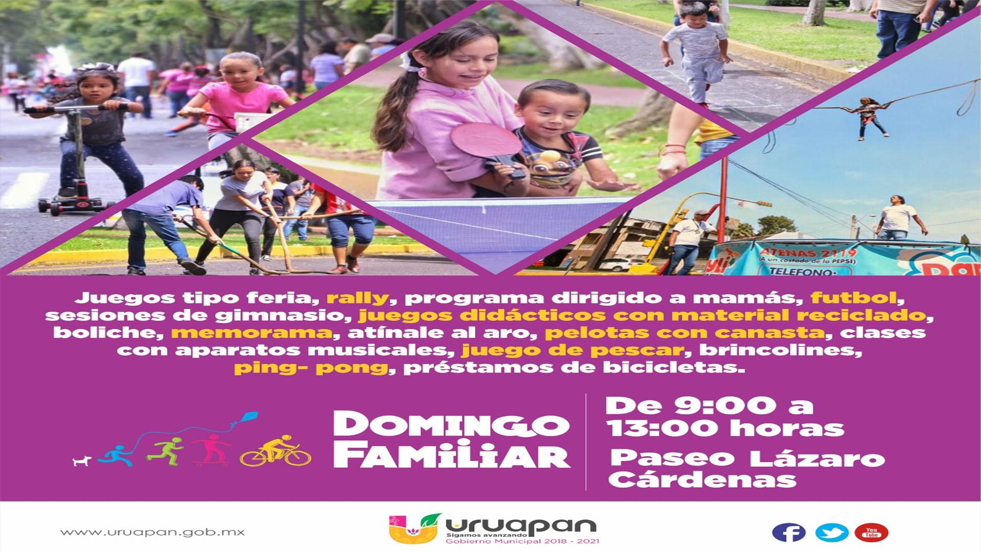 "Promoverán cultura del agua en el ""Domingo Familiar"""