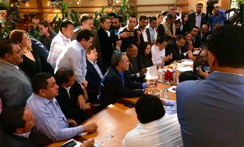 Se reúne Víctor Manríquez con la Jucopo para fortalecer municipios