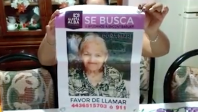 Photo of VIDEO: A tres meses de su desaparición, Doña Mari todavía no aparece