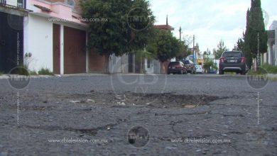 Photo of Calles del fraccionamiento Ampliación Mariano Michelena en mal estado